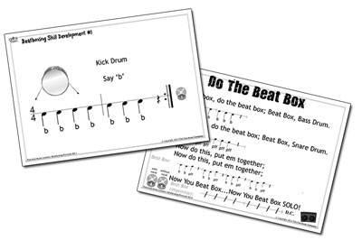 beatboxing printslides For Primary/Elementary