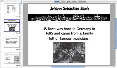 Composers Powerpoint Presentation