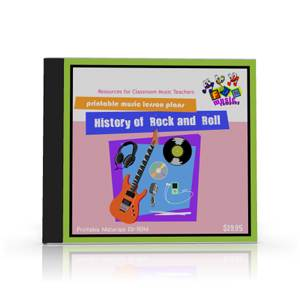 History of Rock CD-ROM