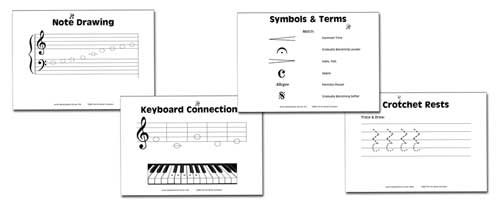 jmcsample Elementary Music Worksheets