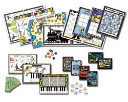 Printable Music Games Program