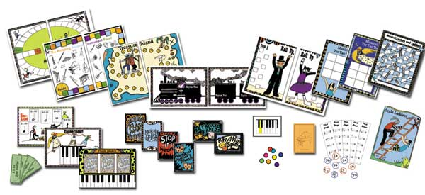 Printable Music Games Product From The Fun Music Company