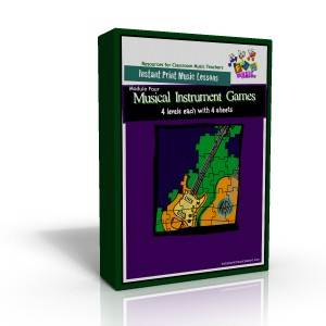 modulefourbox 1 300 Classroom Music Worksheets
