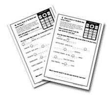 Level Four Worksheets