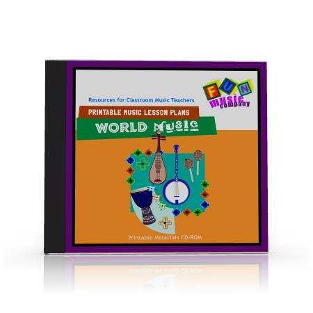 Printable Music Lesson Plans World Music Lesson Plans
