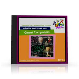 Great Composers Music Lesson Plan Module