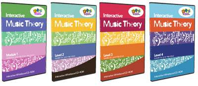 Interactive Music Theory Program