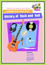 Rock and Roll Lesson Plans Student Workbook
