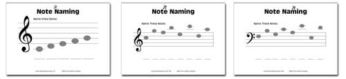 samplest2 Junior Music Worksheets