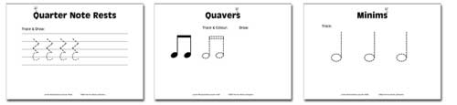 samplest4 Junior Music Worksheets