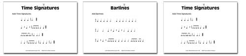 samplest6 Junior Music Worksheets