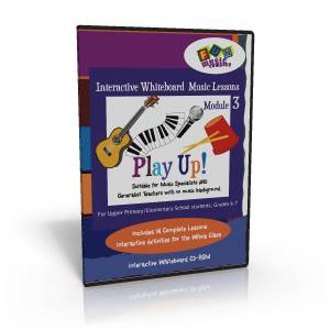 Whiteboard Music Lessons Module Three Play Up